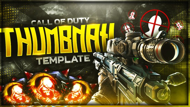 PSD Thumbnail Call of Duty IW BO3 / PSD Miniature Call of Duty IW BO3