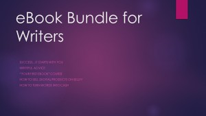 eBook Bundle for Writers