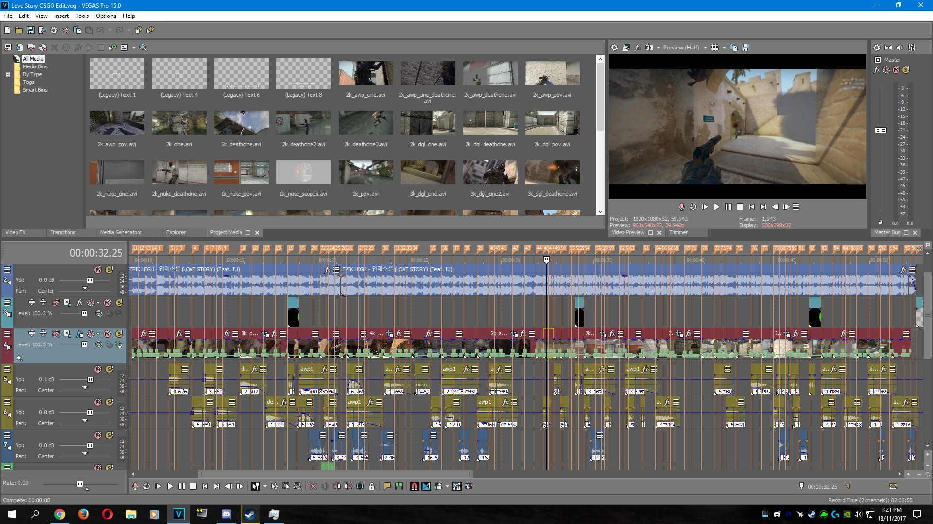 Love Story Csgo Edit Project File