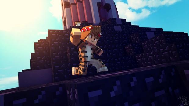 Wallpaper De Minecraft 4K