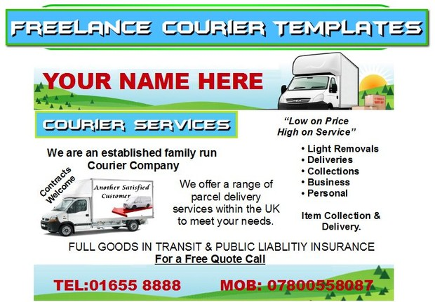 freelance  courier  Business