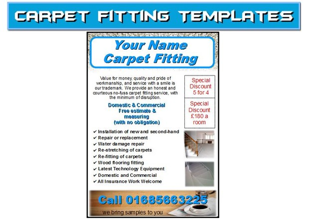 carpet fitting Business