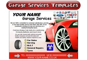 CAR Garage Services Business