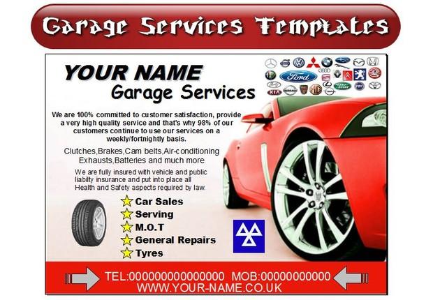 CAR Garage Services Business