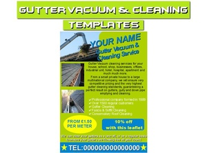 Gutter Vacuum & Cleaning  Business