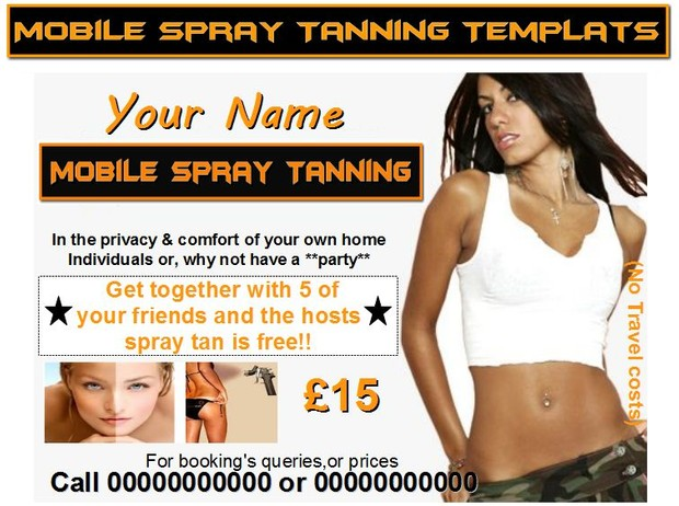mobile spray tanning Business