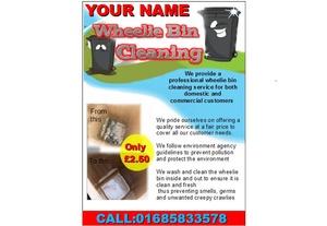 bin cleaning Business