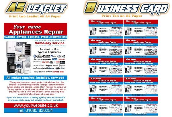 Appliances Repair  Business Start Up Pack