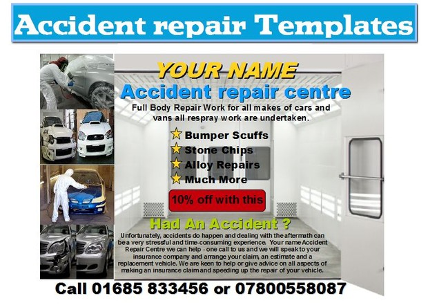 Accident repair Business Start Up Pack