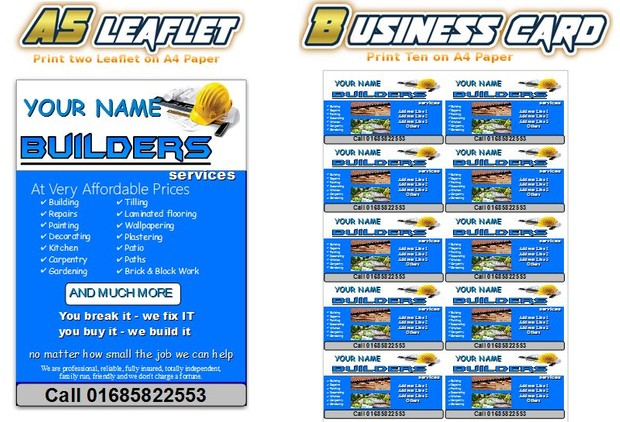 Builders Business Start Up Pack
