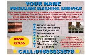 start a jet/pressure washing Business