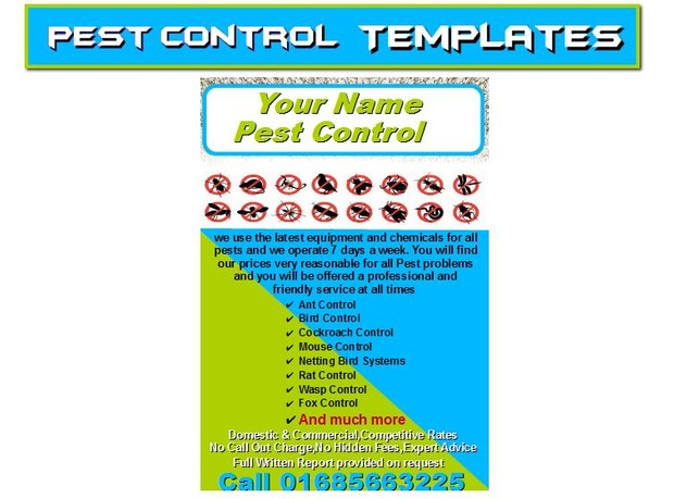 start a pest control Business - kevin