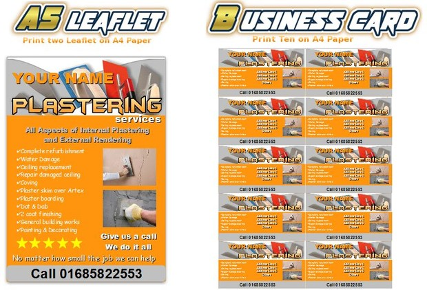 start a plastering Business