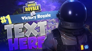 Season 3 - Fortnite Battle Royale Thumbnail Template (6 Renders)