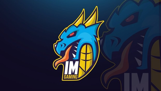 Dragon Mascot Logo - by Grid