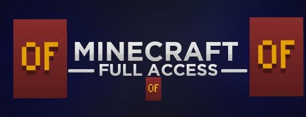 MINECRAFT FULL ACCESS ACCOUNT + OPTIFINE CAPE