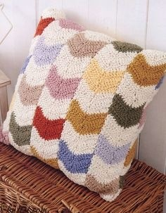 Boho Chevron Pillow