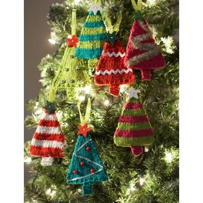 Knit Tiny Trees