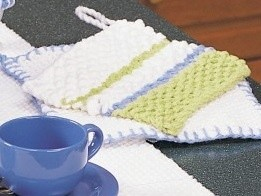 Striped Pot Holder