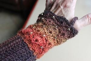 Shell stitch Beaded Wristers