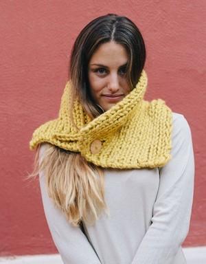 Yellow Neck Warmer