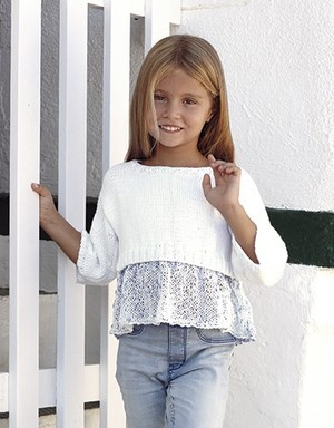 Girl's Cropped Top