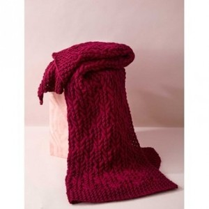 Big Knit Afghan