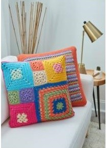 Patched Stash Pillows