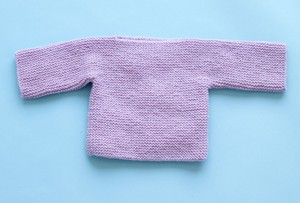 One Piece Baby Pullover