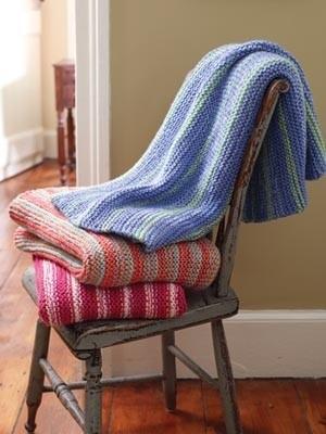 Knit One Knit Many Blanket