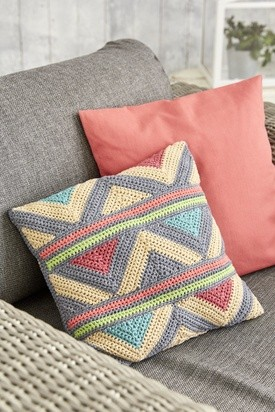 Chevron Desert Cushion