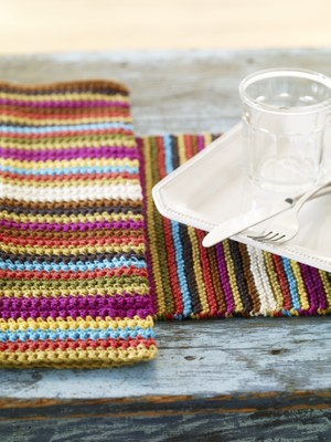 Fiesta Picnic Dishtowel or Placemat
