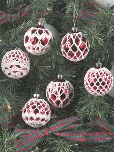 Crochet Tree Ornaments