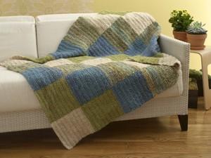 Crochet Pistachio Throw