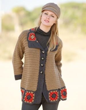 Black Cowichan Blanket Sweater