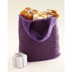 Tunisian Crochet Tote