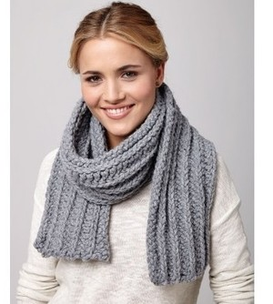 Cool Day Crochet Scarf