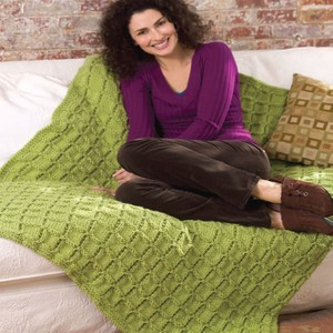 Easy Cable Afghan