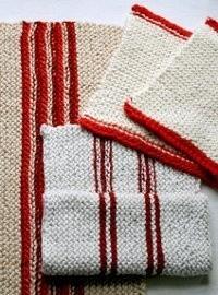 Natural Fibers Knit Dishtowels