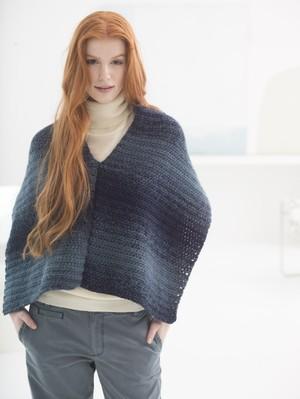 Crochet Chunky Ruana