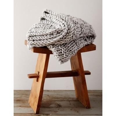 Bulky Woven Look Blanket