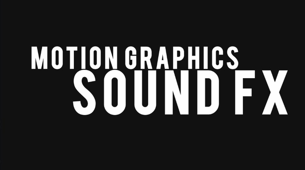 Motion Graphics Sound FX