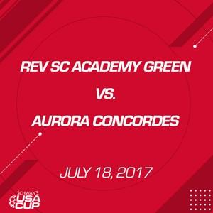 Girls U15 - July 18,2017 - Rev SC Academy Green vs Aurora Concordes