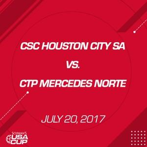 Boys U17 Gold - July 20, 2017 - CSC Houston City SA 00B vs CTP Mercedes Norte