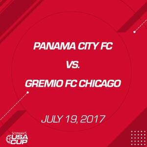 Boys U17 Gold - July 19, 2017 - Panama City FC vs Gremio FC Chicago