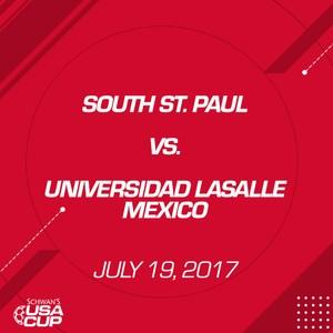 Girls U19 Silver - July 19, 2017 - South St. Paul vs Universidad LaSalle Mexico