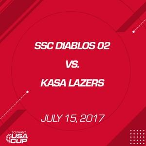 Boys U15 - July 15, 2017 - SSC Diablos 02 V. KASA Lazers