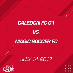 Boys U16 - July 14, 2017 - Caledon FC vs Magic Soccer FC