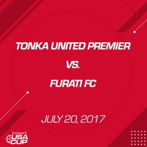 Boys U16 - July 20, 2017 - Tonka United Premier V. Furati FC
