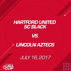 Boys U17 - July 16, 2017 - Hartford United SC Black V. Lincoln Aztecs